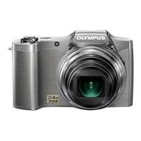 Olympus SZ-12 14MP Digital Camera with 24x Wide-Angle Zoom (Silver)