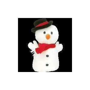 Ty Beanie Buddies Snowball - Snowman - 1