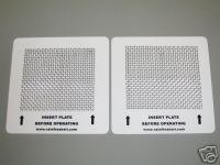Rainfresh Air 2 ozone plates for Alpine Ecoquest Living Air purifiers