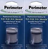 Invisible Fence Compatible R21, R51 and Microlite Dog Collar Battery 2PK
