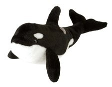 "Orca Whale Cuddlekin 10"" by Wild Republic"