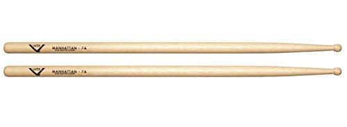 vater-vh7aw-7a-wood-tip-hickory-drum-sticks-pair