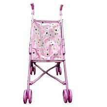 You & Me Umbrella Doll Stroller: Pink and White Plaid - Toys R Us Exclusive by Toys R Us