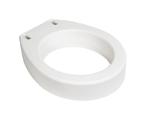 Essential Medical Supply Toilet Seat Riser, Standard
