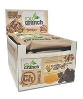 Raw Crunch Bars Organic Dark Chocolate -- 12 Bars