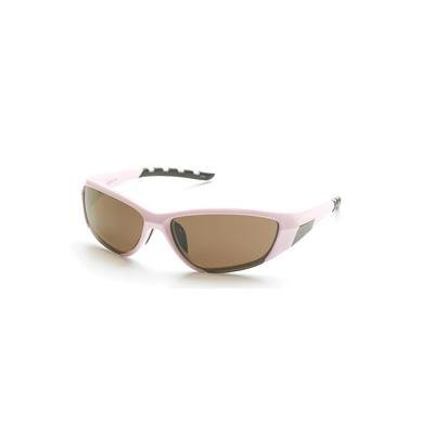 Serfas Force 5 Sunglasses (Pink Frame; Rose, Brown, Clear & Rust Lenses) front-866326