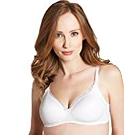 2 Pack Maternity Padded T-Shirt Nursing B-DD Bras