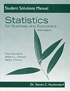 Statistics for Business & Economics -Stud.…
