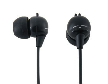 In-Ear Headphone With A Lovely Mashimaro And Ear Adapters (Black)