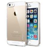 【Spigen】 iPhone5s / 5 ケース ウルトラ・フィット [ ソフト クリアケース ] クリア・カプセル【SGP10618】