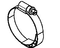 Volvo Truck 20840154 Hose Clamp