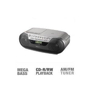 Sony CFDS05 CD Radio Cassette Recorder Boombox