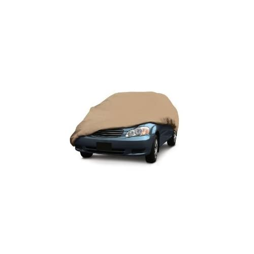 Classic Accessories PolyPro Tan Car Cover, Full Size