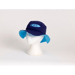 Koolsun Boys Blue Bucket Sun Hat Large (5-8yrs)