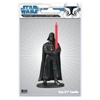 Star Wars Darth Vader Candle Holder with Lightsaber Candle
