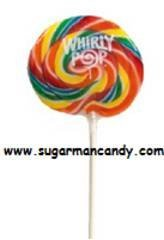 """4"""" Whirly Lollipops 1 Case 12 units"""