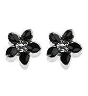 M&S Collection Floral Enamel Stud Earrings