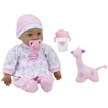 You Me Hugs Holds Baby African American Doll by Toys R Us