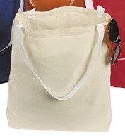 12 Tote Bags Cotton / Natural Color Shopping Bag, Craft Bag