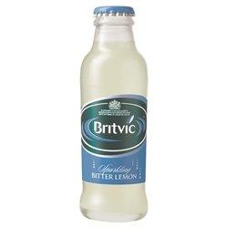 Britvic Bitter Lemon 24x125ml Glass Bottles