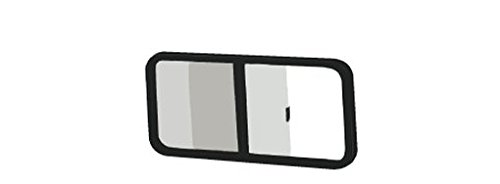 """C.R. Laurence Vw8369 Crl Universal Non-Contoured Horizontal Sliding Window 37-1/4"""" X 16-3/4"""" With 2-1/4"""" Trim Ring front-799490"""