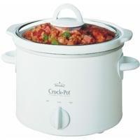 Crock-Pot 50301-W 3-Quart Slow Cooker, White