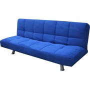 Your Zone Converttible Futon Stadium Blue