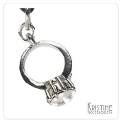 Buy cell phone charms - Cute Cell Phone Charms Kristine Accessories Crystal Ring Cell Phone Charm