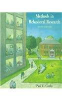 Methods in Behavioral Research, Cozby, Paul C.
