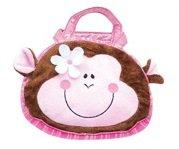 Handbag Animal-Monkey 8 Inch/Novelty/Plush/Toys/Children/Handbags/Purses