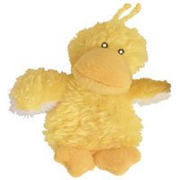 Picture KONG Duckie Catnip Toy, Yellow