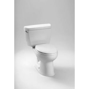 Toto CST744SF.10No.01 Drake Two-Piece Toilet, 1.6-GPF Cotton