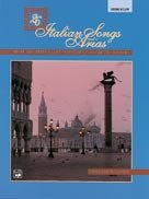 26 Italian Songs & Arias, Med. Low, Book & Cd front-505761