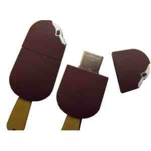 USB Ice Cream 8GB - Food memory stick/drive for XP/Vista/Windows 7/Mac from EASYWORLD