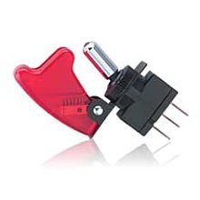 12VDC Toggle Switch with Safety Cover