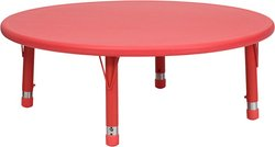 45 in. Activity Table in Red