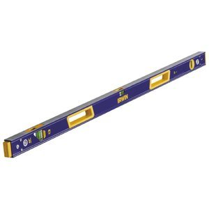 IRWIN Tools 2050L Lighted Magnetic Box Level, 48-Inch (1801103) (Color: Blue, Tamaño: 48-inch)