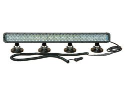Infrared Led Light Bar W/ Magnetic Bases - Extreme Environment - 60, 3-Watt Leds (-White-Spot-940Nm)