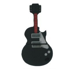 USB ELECTRIC GUITAR 4GB BLACK - Memory stick/drive for XP/Vista/Windows 7/Mac from EASYWORLD
