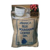 4oz Bag Whole Bean 100% Jamaica Blue Mountain Coffee