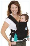 NewBorn, Baby, Moby Soft Structured Baby Carrier-Black New Born, Child, Kid