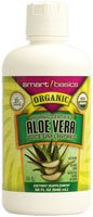 Smart Basics Organic Certified Aloe Vera Juice Unflavored -- 32 fl oz