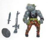 Teenage Mutant Ninja Turtles Rocksteady Action Figure 1988 (Ninja Turtles Action Figures 1988 compare prices)