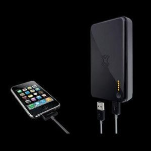 XtremeMac InCharge Portable rechargeable battery pack with built-in wall charger for iPhone, iPad & iPod - IPU-ICP-11