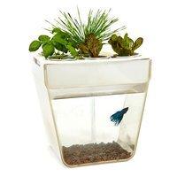 Gardeners Edge AquaFarm Hydroponic Fish and Food Tank