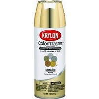 Krylon 51510 Gold Interior and Exterior Decorator Paint - 12 oz. Aerosol (Gold Spray Paint compare prices)
