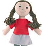 Fair Trade and Handmade Small Rag Doll - Molly - Imajo