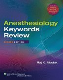 Anesthesiology Keywords Review Softbound