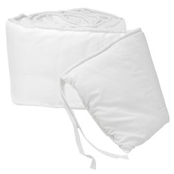 Tailored Baby Crib Bumpers - Color White front-813684