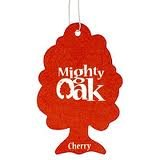 10 x MIGHTY OAK AIR FRESHENER CAR / HOME / OFFICE - RED - CHERRY - 10 PACK